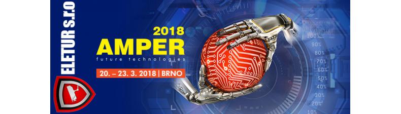 ELETUR s.r.o na veletrhu AMPER 2018