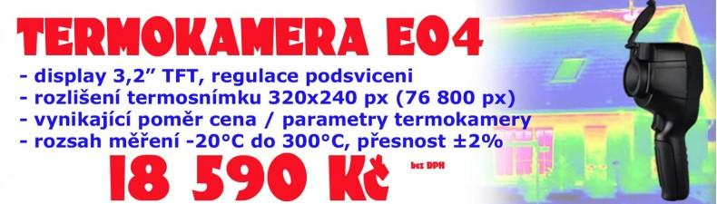 ELETUR termokamera E-04 termokamera 320x240px