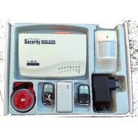GSM alarm inteligentní bezdrátový set v  ČEŠTINĚ / ALABASTR - AKCE nejlevnější varianta zabezpečení L&L-810B - SERVIS-