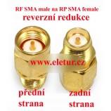 SMA male to RP SMA female  redukce