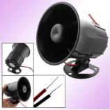 Venkovní / vnitřní drátová siréna, 120dB