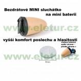 Extra miniaturní bezdrátové bateriové špionážní sluchátko GSM, … *