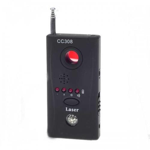 Detektor GSM, GPS lokátorů, WIFI, Bluetooth, FM, VHF, UHF štěnic a skrytých kamer se signalizací síly