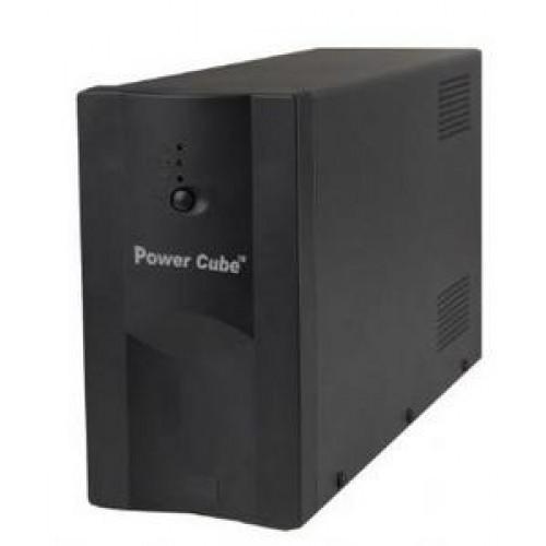 UPS záložní zdroj 650VA AVR, UPS pro EZS a CCTV, krátkodobá záloha