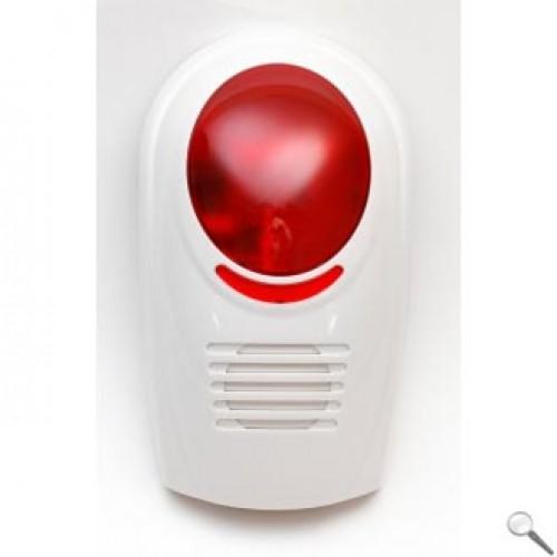 Bezdrátová venkovní strobo siréna pro GSM alarm L&L-606W-W