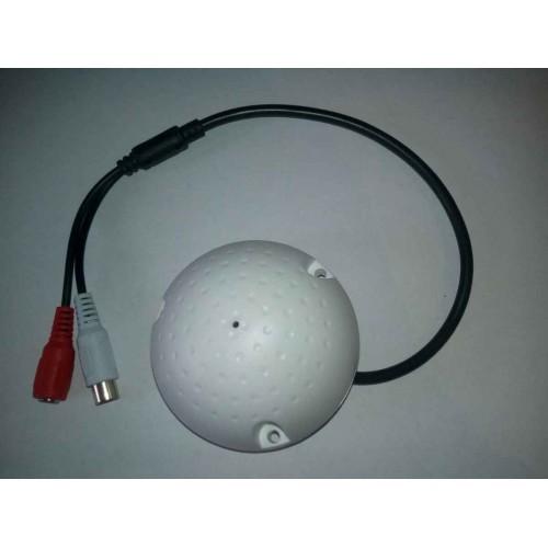 Mikrofon s předzesilovačem pro bezpečnostní EXTRA citlivý CCTV/AHD/CVI kamery TT-MIC009A