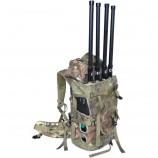 Armádní batoh - rušička GSM pásem, 3G, GPS 50W