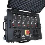Armádní rušička - rušička GSM pásem, 3G, GPS, CDMA-WIFI, Bluetooth 320W