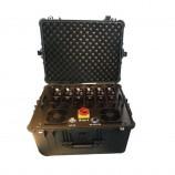 Armádní rušička - rušička VHF,NMT, UHF, CDMA 300W