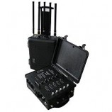 Armádní VIP rušička - rušička VHF,NMT, UHF, CDMA, GSM, 3G, WIFI 480W