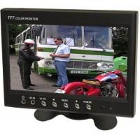 """LCD color monitor TFT 7"""" CL-7016, 800x480 pix., zobrazení CCTV"""