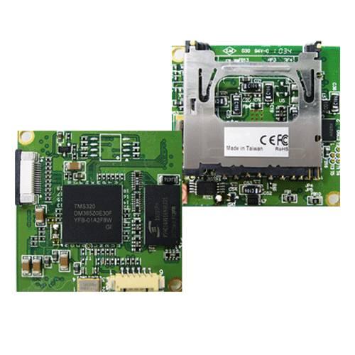 RYK-9116A miniaturní AV rekordér (OEM provedení pro skrytou vestavbu)