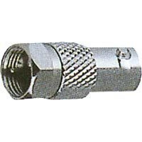 BNC/F konektor - Redukce F konektor/BNC zdířka (D730)