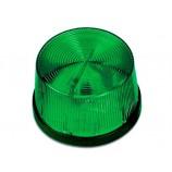 Zelený maják, LED strobo, jen světelný efekt LM105