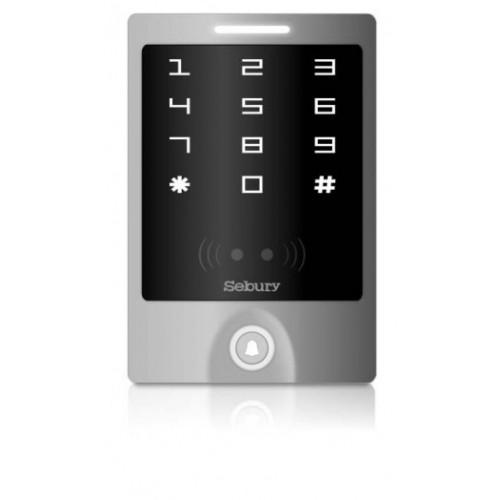 Autonomní přístupová čtečka/klávesnice Sebury sTouch WiFi