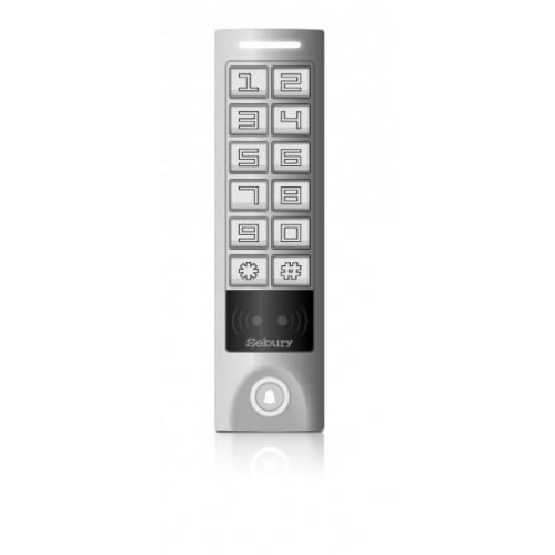 Autonomní RFID čtečka/klávesnice Sebury sKey-W-s