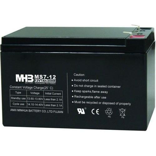 Akumulator olověný 12V/7Ah k L&L-609B a Sebury BPS-04