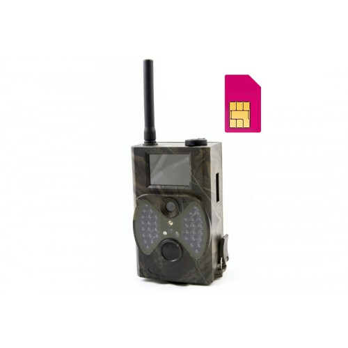 "Fotopast 12MPx, LCD 2,5"" s GSM, GPRS, HC300M"