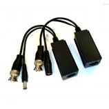 HD-AHD video baloun, balun, transreceiver, souprava převodníků pro přenos analogového HD až 8MPx po UTP - TT-TVI02/UTP101P-HD