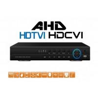 8CH hybridní DVR MHD-FD7108, (AHD/TVI/CVI/IP/analog) 1080p, H264+, české menu