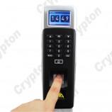 Přístupový systém CF1200, klávesnice, displej, čtečka karet a prstů, monitorováním přístupů