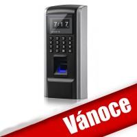 Biometrická čtečka prstů  F8 s klávesnicí a RFID čtečkou, docházkový systém, LAN, autonomní klávesnice