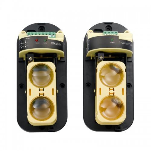 infrabrána, INFRAZÁVORa DUAL ABT-60F, 60m cena za pár (PB-60D)