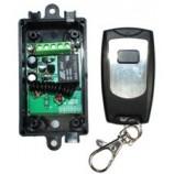 SESAME bezdrátové relé + DO (dálkový ovladač), 4x relé NO/NC/COM výstup, dosah 30m EB-19D