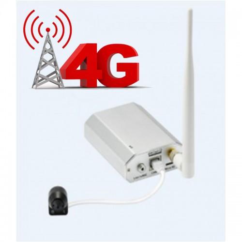 1MPx skrytá 4G IP kamera Anbash NC129FG, P2P, audio, Alarm I/O, SD, LTE