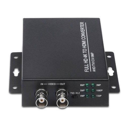 4K převodník videa TVI/AHD/CVI to HDMI & VGA & CVBS AHD1509 II