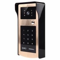 Kovový odolný videozvonek venkovní s RFID čtečkou a klávesnicí  XSL-IDS