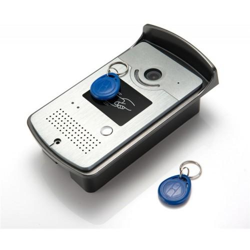 Kovový venkovní videozvonek se čtečkou RFID ZONEWAY XSL-ID
