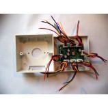 Rozbočovač videa pro monitory - vnitřní jednotky videozvonků 1->6    XSL-V6