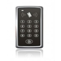 Kódová klávesnice a RFID čtečka s tlačítkem zvonku SA-0109, AKCE!!!