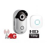WiFi 4G video zvonek Zoneway ZW-D1, volání do mobilu , 720p, ONVIF,