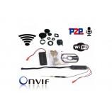 1080p profi skrytá IP Wifi kamera, audio, SD, P2P  (PQ199 II)