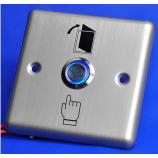 SESAME SB3R, odchodové tlačítko, kontakty NO/NC/COM, LED podsvícení
