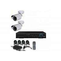 4CH 1080p AHD kamerový set CCTV - DVR s LAN a 2x venkovních bullet AHD IR kamer, 1920x1080px/CH, CZ menu,P2P, HDMI