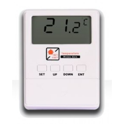 Bezdrátový termostat / detektor k GSM alarmu Alabastr 433MHz TD-01