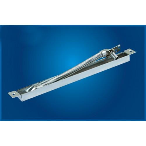 Ochranná kovová hadice pro kabely na rám dveří (DL-38)