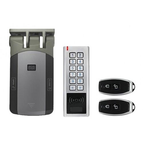 Chytrý set Zoneway D3 - čtečka, klávesnice, zámek, dálkové ovládání, Wifi