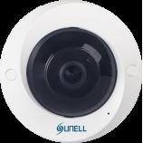 5MPx SUNELL SN-IPV57/50AGDR -  Fisheye kamera, rybí oko, AUDIO, H265, SD, POE, IVA