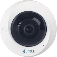 5MPx IP SUNELL SN-IPV57/50AGDR -  Fisheye kamera, rybí oko, ONVIF, AUDIO, DWDR, H265, SD, POE, IVA