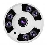 4MPx AHD/TVI/CVI kamera rybí oko - FISH EYE,, IR 40m, IP65, HICO-HFIF06M40K