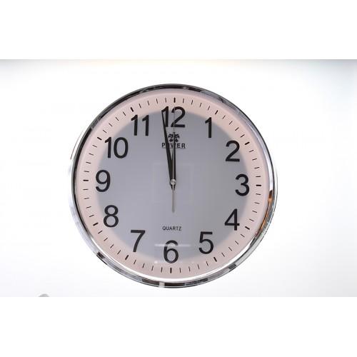 Nástěnné hodiny se skrytou 2MPx IP WiFi 1080p, SD, P2P, kamerou FULL HD (MC-24)