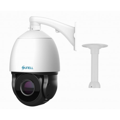 IP PTZ SUNELL, 3MPx STARVIS H265, IR 200m, 30x zoom, SMART AUTOTRACKING, 30MDRZSD3018WO