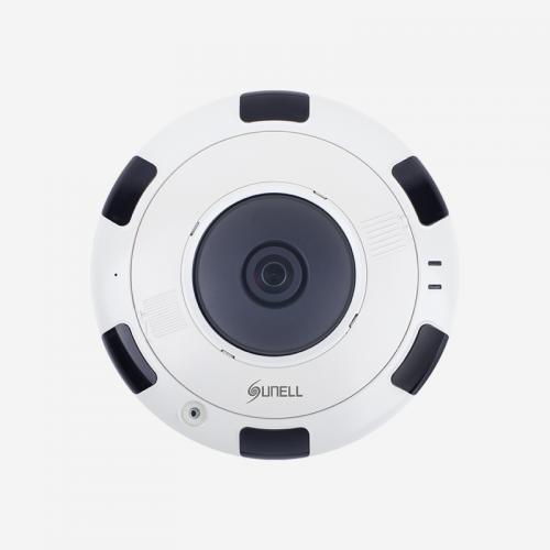 12MPx SUNELL venkovní POE IP kamera, rybí oko, FISH eye, H265, (IPV5780HDR)