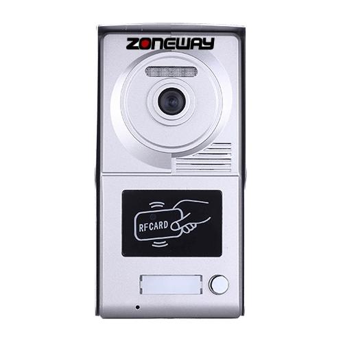 Zoneway ZW-702-1D - RFID přístupový systém/videozvonek tablo