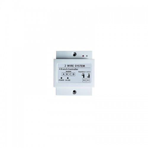 Video distributor/rozbočovač monitorů/tlačítek Zoneway ZW-504