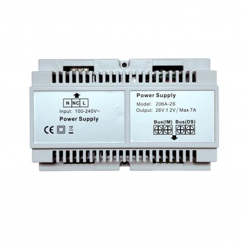 Napáječ sběrnicových (2D) videozvonků power separator Zoneway ZW-206A-2S